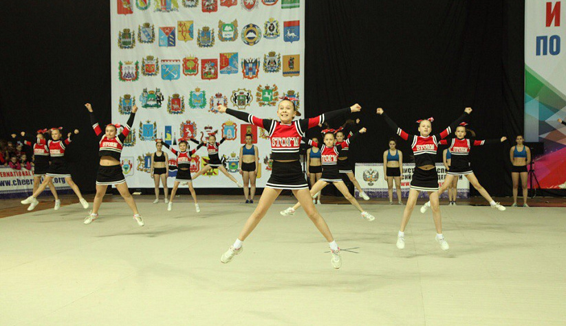 Russian championship and Championship in cheer Sports and Cheerleading, Moscow 2017